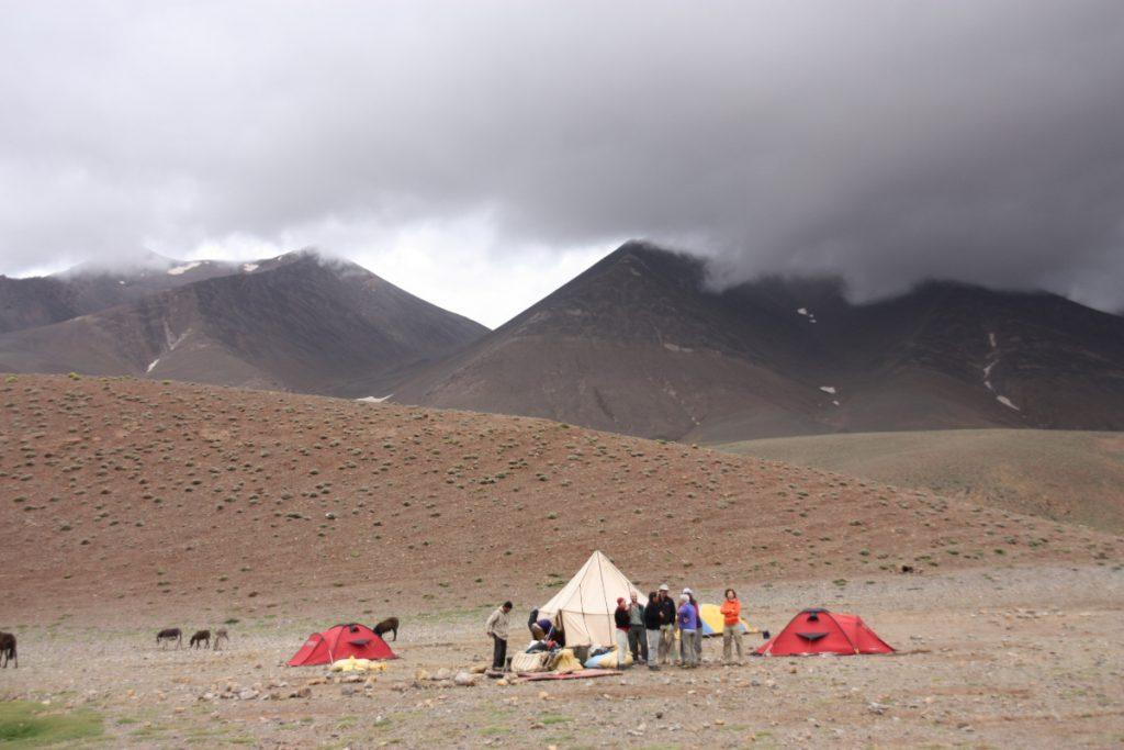 camp at Tarkaddit